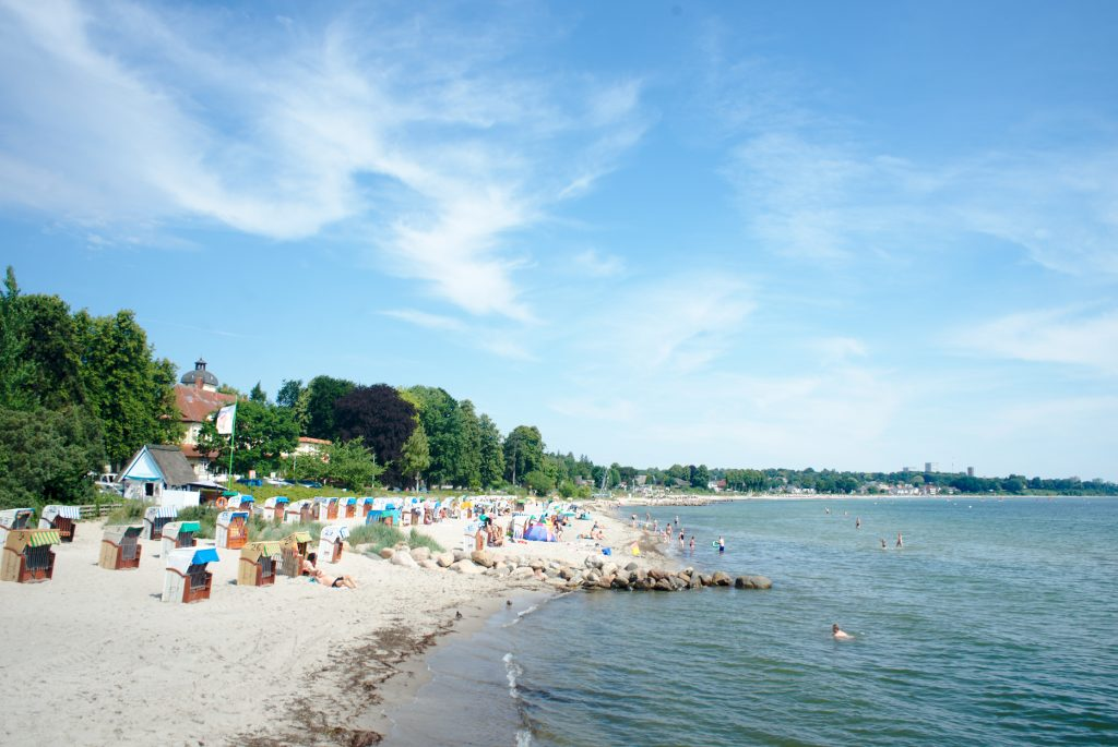 Sommer in Haffkrug am Strand